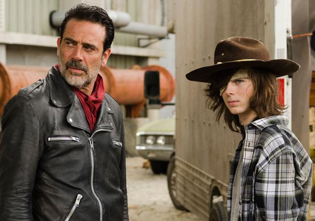 The Walking Dead: Negan e Carl