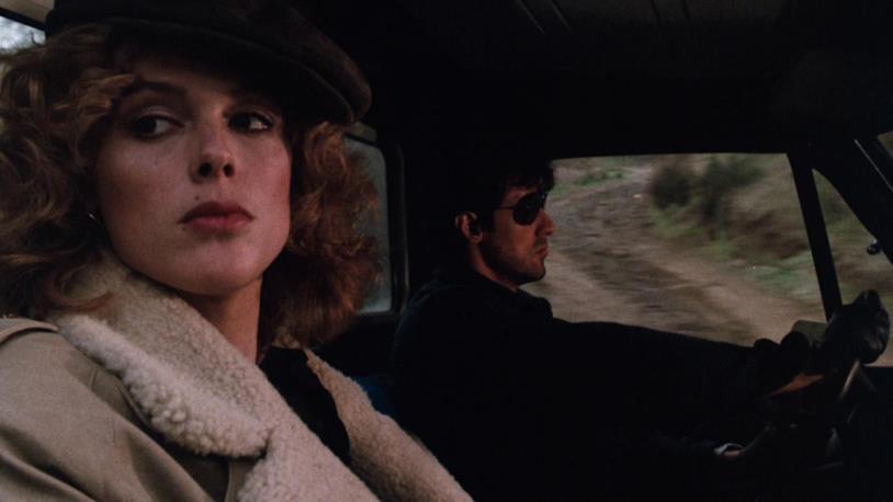 Brigitte Nielsen e Sylvester Stallone in una scena del film