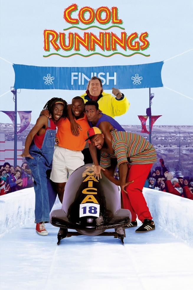Il poster del film Cool Runnings