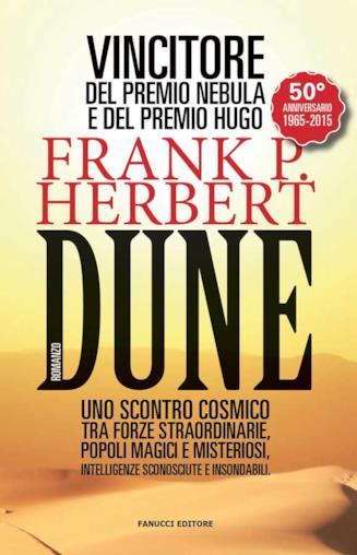 Copertina del libro Dune di Frank Herbert