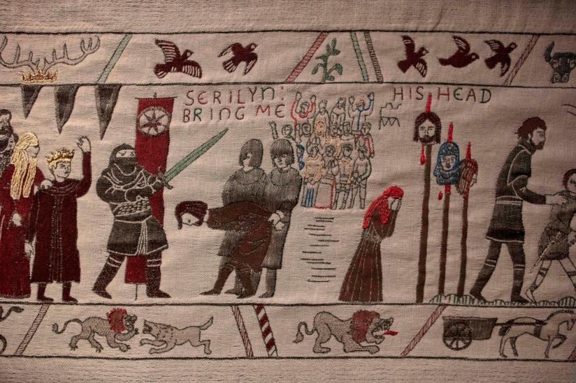La morte di Ned Stark nell'arazzo di Game of Thrones