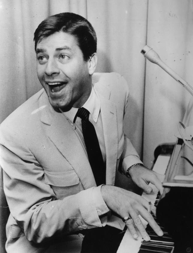 Jerry Lewis in un'immagine d'archivio