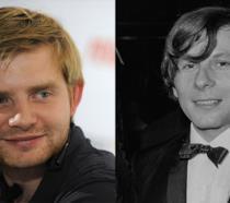 Rafal Zawierucha, attore di origine polacca, e Roman Polanski