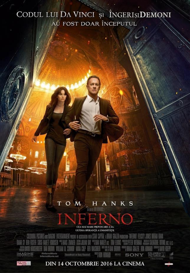 Poster internazionale di Inferno