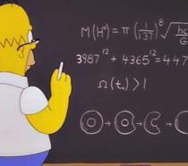 """Homer ha scoperto la """"particella di Dio"""""""