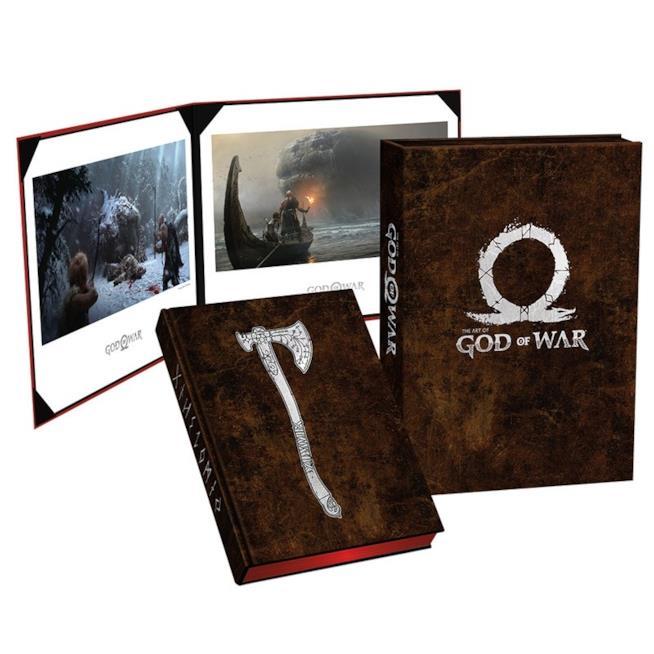 L'artbook ufficiale di God of War edito da Dark Horse Books