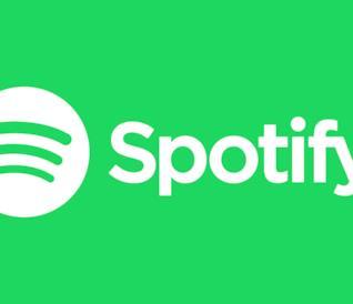 Il logo della piattaforma di streaming Spotify