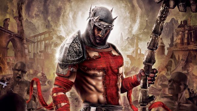 Il protagonista di Dante's Inferno