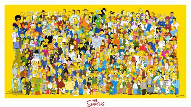 Springfield e i suoi colorati cittadini