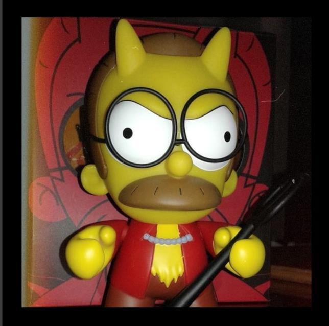 Devil Flanders prodotto da Kidrobot