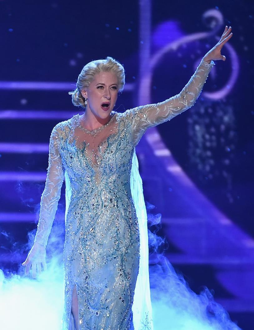 Elsa nel musical di Frozen