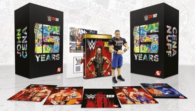 La Collector's Edition di WWE 2K18