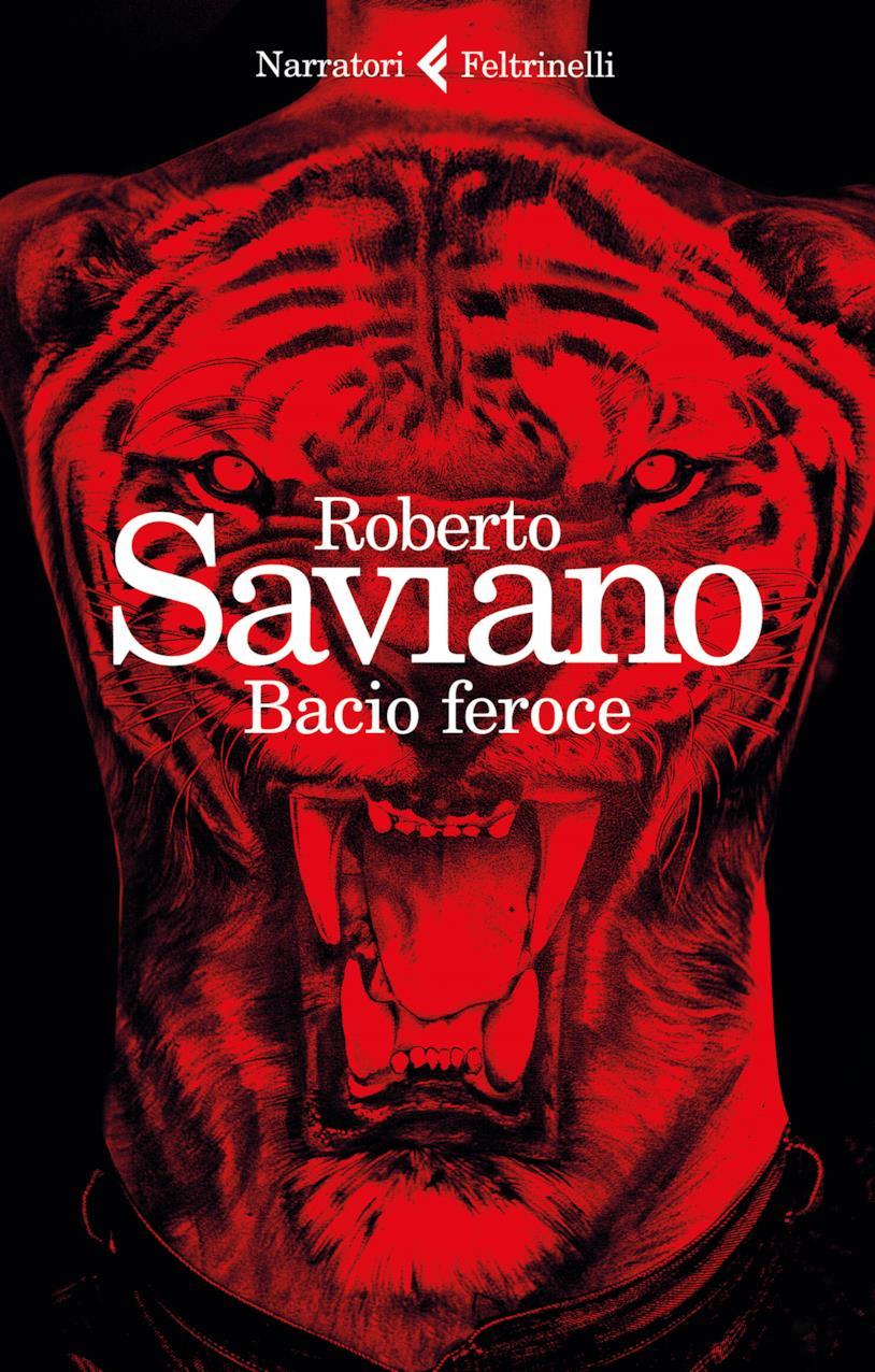 La copertina nel nuovo romanzo di Roberto Saviano