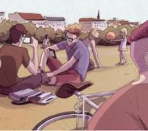 La cover del nuovo fumetto di Alberto Madrigal, Berlino 2.0