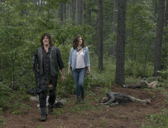 The Walking Dead: Daryl e Maggie nell'episodio 9x03