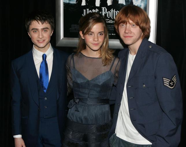 Daniel Radcliffe, Emma Watson e Rupert Grint