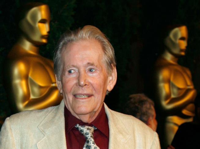 Il candidato al premio Oscar Peter O'Toole