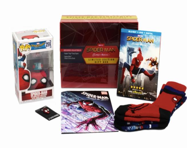 Walmart-Spider-Man: Homecoming Limited Edition, la confezione
