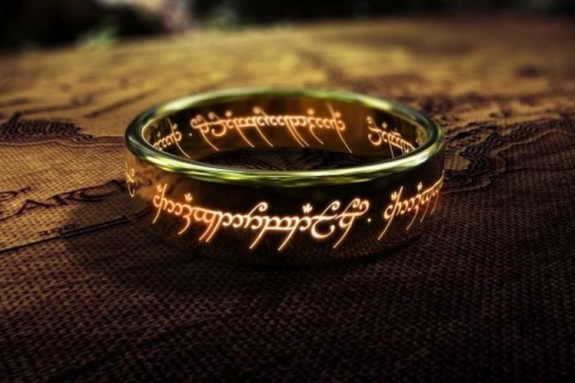 L'anello della trilogia de Il Signore degli Anelli