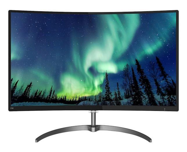 """Immagine stampa del Philips 278E8QJAB Gaming Monitor Curvo LED da 27"""""""