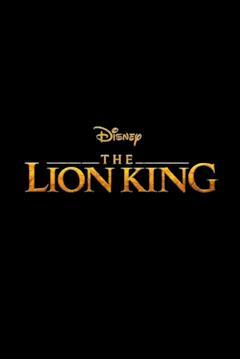 Il logo del remake de Il re leone in un teaser poster
