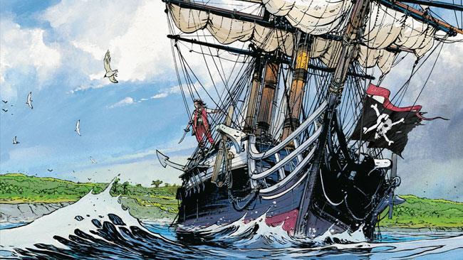 L'isola del tesoro nei fumetti Mondadori
