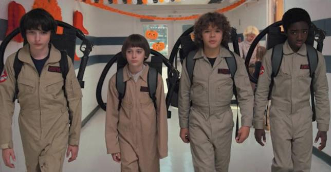 I Ghostbusters secondo Stranger Things