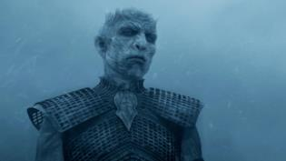 Il Night King in Game of Thrones