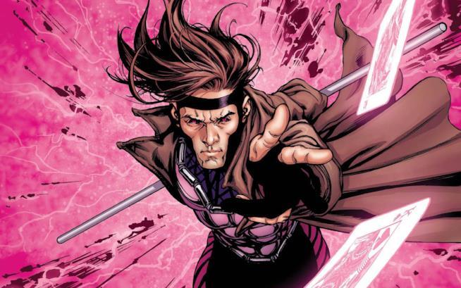 Un'illustrazione di Gambit