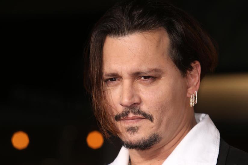 Primo piano di Johnny Depp