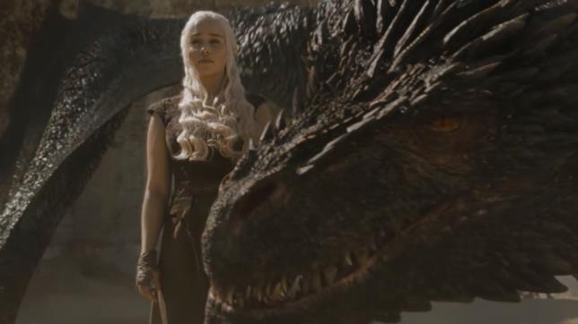 Un'immagine da Game of Thrones