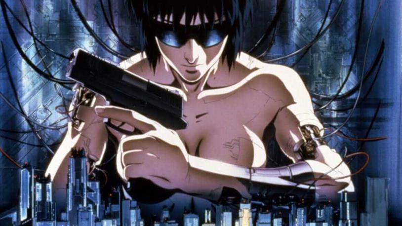Motoko Kusanagi anime originale