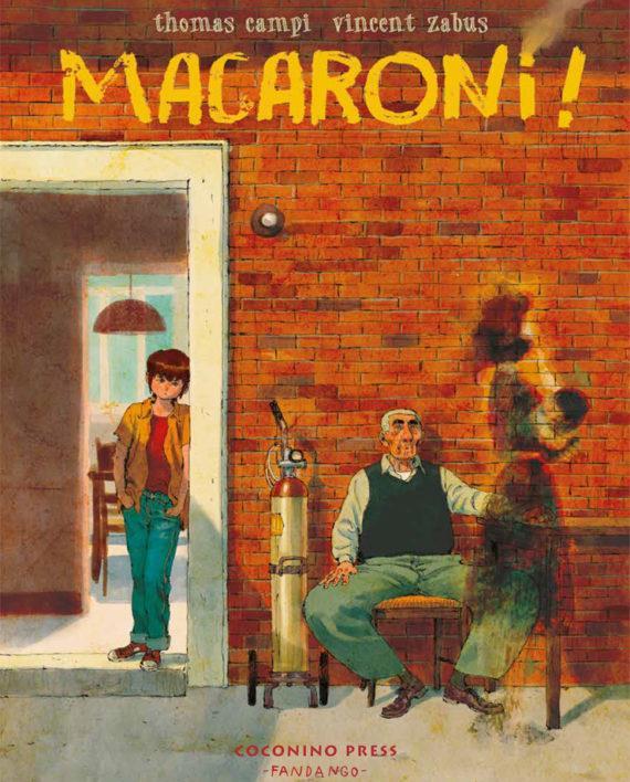 La copertina del fumetto Macaroni!