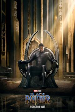 Il teaser poster USA di Black Panther
