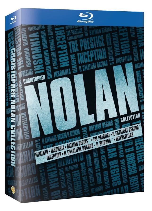 Christopher Nolan Collection, il packshot