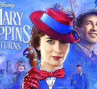 La locandina de Il Ritorno di Mary Poppins