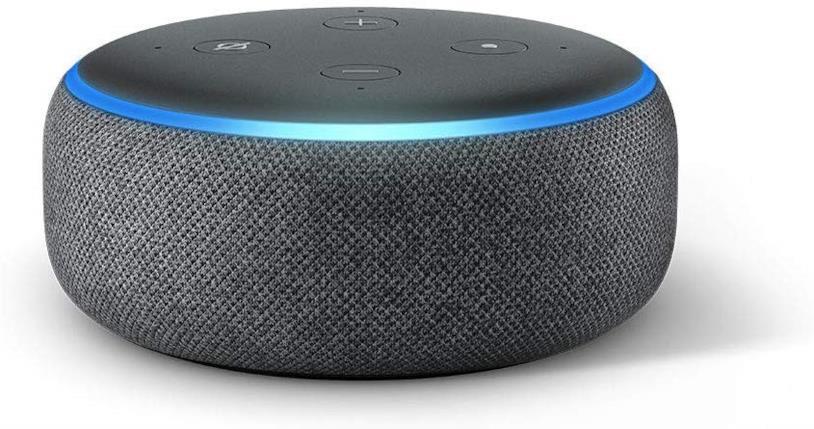 Immagine stampa di Amazon Echo Dot di terza generazione