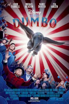 L'elefantino Dumbo nel poster italiano del film
