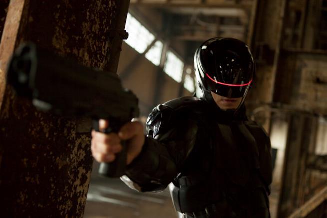 Robocop nell'omonimo film del 2014