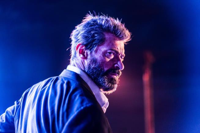 Hugh Jackman nel ruolo di un vecchio Logan
