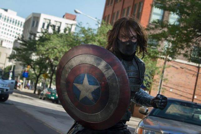 Sebastian Stan nei panni del Soldato d'Inverno in Captain America: The Winter Soldier