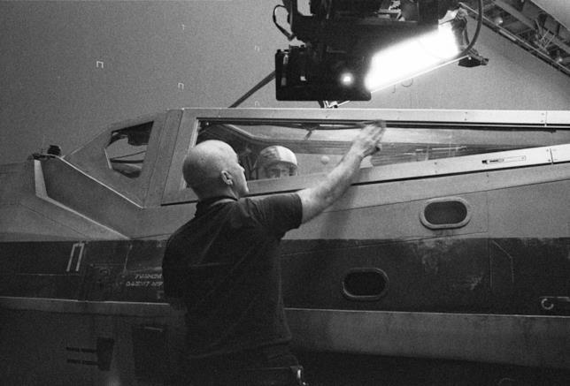 Foto dietro le quinte di Star Wars 8