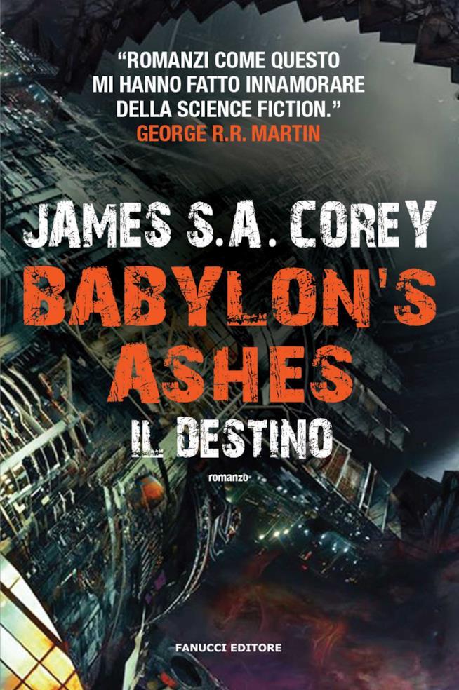 Babylon's Ashes è uno dei libri da leggere a giugno 2017