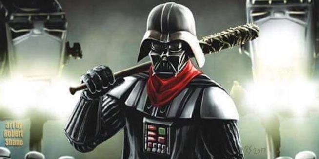 Darth Vader impugna la sanguinaria Lucille