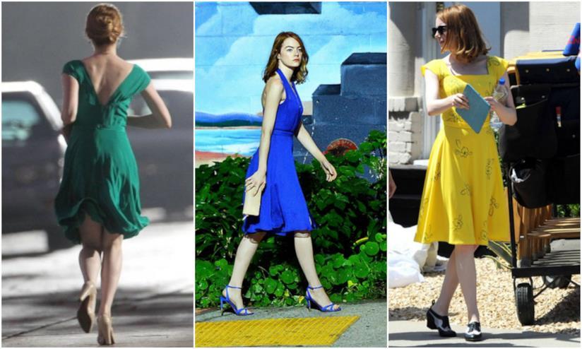 I vestiti di Emma Stone in La La Land