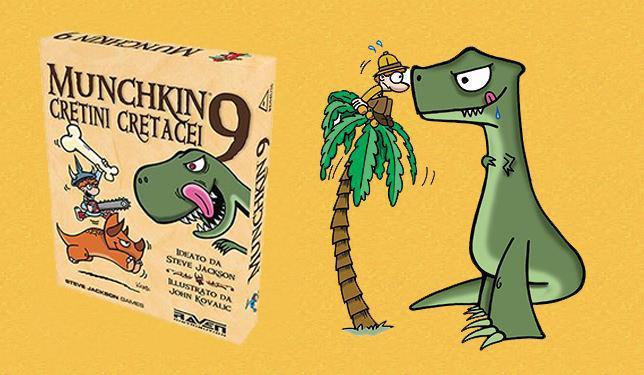 Cretini Cretacei, la nuova espansione di Munchkin