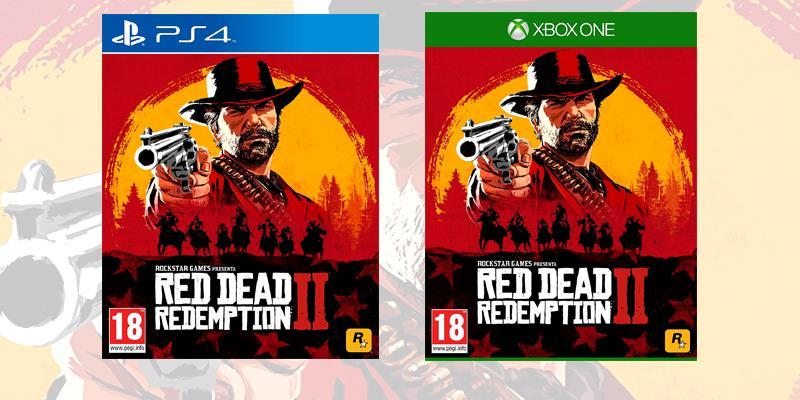 La boxart di Red Dead Redemption 2