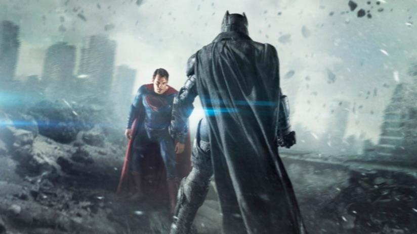 Batman e Superman in uno scontro