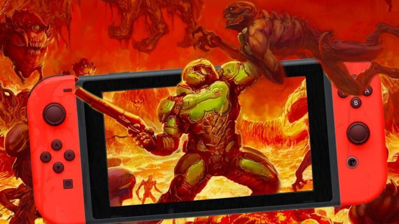 DOOM arriva su Nintendo Switch