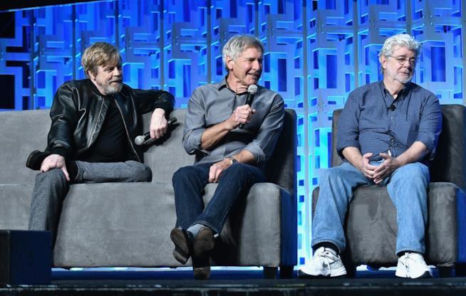 Alcuni dei protagonisti della Star Wars Celebration 2017